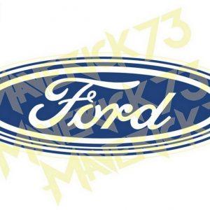 Adesivo Vintage Retro. Adesivos para Parabrisa Decorativos Vintage Retrô. Decals Stickers Ford Oval Logo