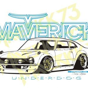 Adesivo Vintage Retro. Adesivos para Parabrisa Decorativos Vintage Retrô. Decals Stickers Ford Maverick Underdog Project