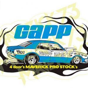 Adesivo Ford Maverick 4door's Pro Stock