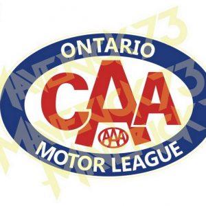 Adesivo Vintage Retro Carro Antigo. Adesivos para Parabrisa Decorativos Vintage Retrô. Decals Stickers Ontario Motor League
