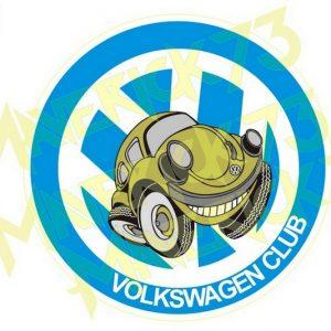 Adesivo Vintage Retro Carro Antigo Marcas Antigas. Adesivos para Parabrisa Decorativos Vintage Retrô. Decals Stickers VW Volkswagen Club