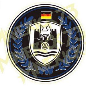 Adesivo Vintage Retro Carro Antigo Marcas Antigas. Adesivos para Parabrisa Decorativos Vintage Retrô. Decals Stickers VW Volkswagen Classic Germany