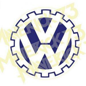 Adesivo Vintage Retro Carro Antigo Marcas Antigas. Adesivos para Parabrisa Decorativos Vintage Retrô. Decals Stickers VW Volkswagen Gear Logo