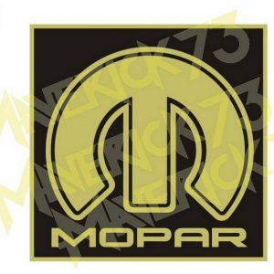 Adesivo Vintage Retro Carro Antigo Marcas Antigas. Adesivos para Parabrisa Decorativos Vintage Retrô. Decals Stickers Mopar Dodge Chrysler Golden Logo