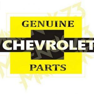 Adesivo Vintage Retro Carro Antigo. Adesivos para Parabrisa Decorativos Vintage Retrô. Decals Stickers Chevrolet Genuine Parts