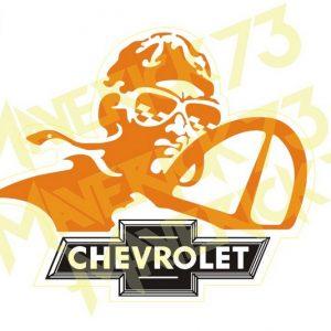 Adesivo Vintage Retro Carro Antigo Marcas Antigas. Adesivos para Parabrisa Decorativos Vintage Retrô. Decals Stickers Chevrolet The Pilot
