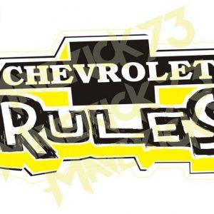 Adesivo Vintage Retro Carro Antigo Marcas Antigas. Adesivos para Parabrisa Decorativos Vintage Retrô. Decals Stickers Chevrolet Ruless