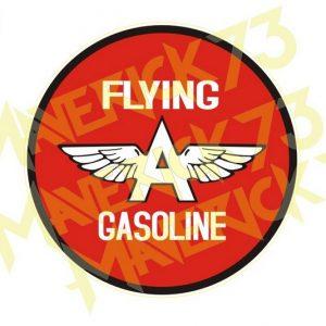 Adesivo Vintage Retro Carro Antigo Marcas Antigas. Adesivos para Parabrisa Decorativos Vintage Retrô. Decals Stickers Flying Gasoline
