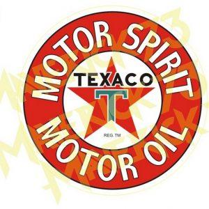 Adesivo Vintage Retro Carro Antigo Marcas Antigas. Adesivos para Parabrisa Decorativos Vintage Retrô. Decals Stickers Texaco Motor Spirit