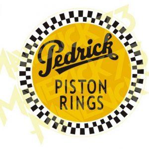 Adesivo Vintage Retro Carro Antigo Marcas Antigas. Adesivos para Parabrisa Decorativos Vintage Retrô. Decals Stickers Pedrick Piston Rings
