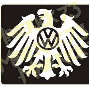 Adesivo Vintage Retro Carro Antigo Marcas Antigas. Adesivos para Parabrisa Decorativos Vintage Retrô. Decals Stickers Volkswagen Black Eagle