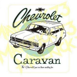 Adesivo Vintage Retro Carro Antigo Marcas Antigas. Adesivos para Parabrisa Decorativos Vintage Retrô. Decals Stickers Chevrolet Caravan