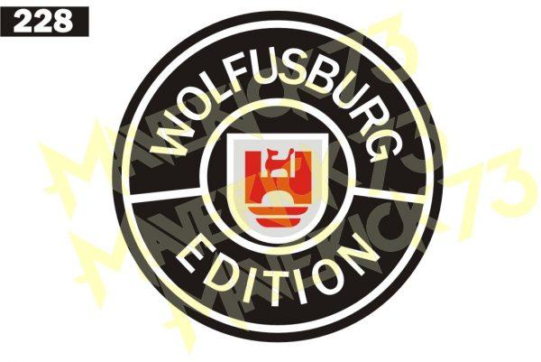 Adesivo Vintage Retro Marcas Antigas. Adesivos para Parabrisa Decorativos Vintage Retrô. Decals Stickers Volkswagen Wolfsburg Edition