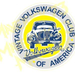 Adesivo Vintage Retro Marcas Antigas. Adesivos para Parabrisa Decorativos Vintage Retrô. Decals Stickers Volkswagen Club of America