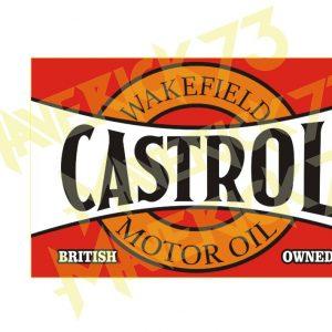 Adesivo Vintage Retro Carro Antigo Marcas Antigas. Adesivos para Parabrisa Decorativos Vintage Retrô. Motor Oils and Gasoline Decals Stickers Castrol Wakefield