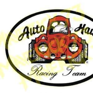 Adesivo Vintage Retro Carro Antigo Marcas Antigas. Adesivos para Parabrisa Decorativos Vintage Retrô. Decals Stickers Auto Haus Racing Team Volkswagen