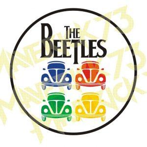 Adesivo Vintage Retro Marcas Antigas. Adesivos para Parabrisa Decorativos Vintage Retrô. Decals Stickers Volkswagen The Beetles