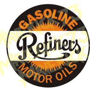 Adesivo Vintage Retro Carro Antigo Marcas Antigas. Adesivos para Parabrisa Decorativos Vintage Retrô. Decals Stickers Refiners Gasoline Motor Oils