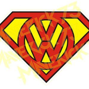 Adesivo Vintage Retro Carro Antigo Marcas Antigas. Adesivos para Parabrisa Decorativos Vintage Retrô Rat Look. Decals Stickers Super Volkswagen