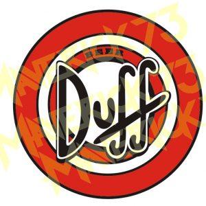Adesivo Vintage Retro Carro Antigo Marcas Antigas. Adesivos para Parabrisa Decorativos Vintage Retrô. Decals Stickers Duff Beer