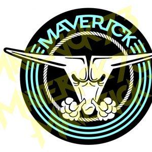 Adesivo Vintage Retro Marcas Antigas. Adesivos para Parabrisa Decorativos Vintage Retrô. Decals Stickers Ford Maverick El Toro