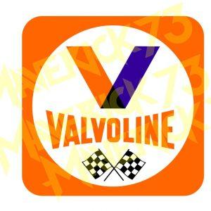 Adesivo Vintage Retro Carro Antigo Marcas Antigas. Adesivos para Parabrisa Decorativos Vintage Retrô. Decals Stickers Valvoline Orange