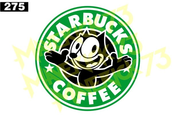 Adesivo Vintage Retro Carro Antigo Marcas Antigas. Adesivos para Parabrisa Decorativos Vintage Retrô. Decals Stickers Starbucks Coffee