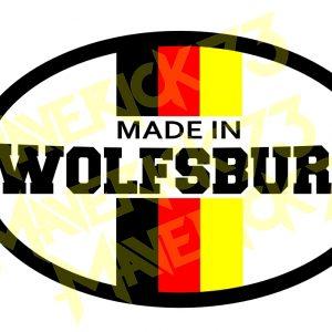 Adesivo Vintage Retro Carro Antigo Marcas Antigas. Adesivos para Parabrisa Decorativos Vintage Retrô. Decals Stickers Volkswagen Made In Wolfsburg