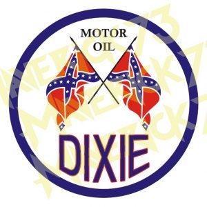Adesivo Vintage Retro Carro Antigo. Adesivos para Parabrisa Decorativos Vintage Retrô. Motor Oils and Gasoline Decals Stickers Dixie Gasoline