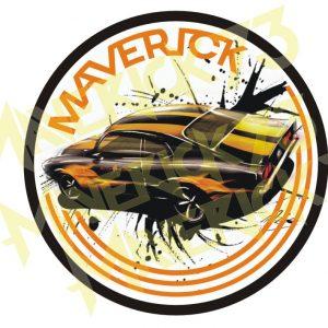 Adesivo Vintage Retro Marcas Antigas Carro Antigo Maverick V8 302. Adesivos para Parabrisa Decorativos Vintage Retrô. Ford Maverick Decals Stickers