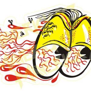 Adesivo Vintage Retro Carro Antigo Marcas Antigas. Adesivos para Parabrisa Decorativos Vintage Retrô. Motor Oils and Gasoline Speed Shop and Performance Parts Decals Stickers The Bloody Eyes